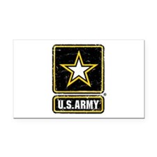 US Army Vintage Rectangle Car Magnet