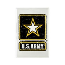 US Army Vintage Rectangle Magnet