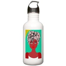 Sadie, the girl with the curls Water Bottle
