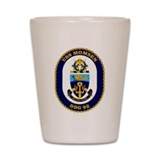 USS Momsen DDG-92 Shot Glass