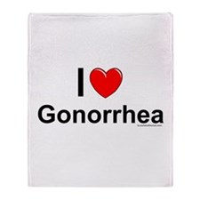 Gonorrhea Throw Blanket