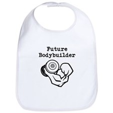 Future Bodybuilder Bib