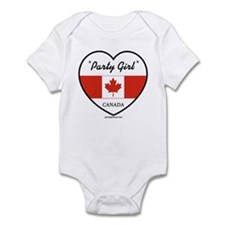 Party Girl Canada 1 Infant Bodysuit
