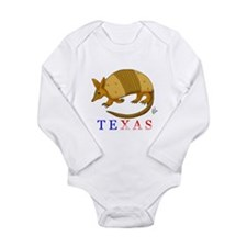 Funny Armadillo Long Sleeve Infant Bodysuit