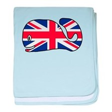UK Whale baby blanket