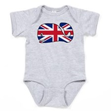 UK Whale Baby Bodysuit