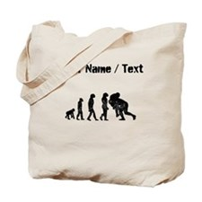 Custom Distressed Rugby Tackle Evolution Tote Bag