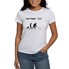 Custom Distressed Hockey Evolution T-Shirt