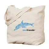 SeaFriends-Dolphin Tote Bag