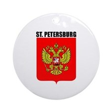 St. Petersburg, Russia Ornament (Round)