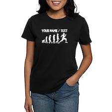 Custom Distressed Running Evolution T-Shirt