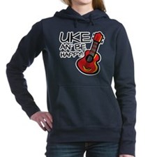 UkeHappyOutline Women's Hooded Sweatshirt