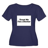 Trust Me, I'm a Doctor Women's Plus Size Scoop Nec