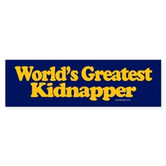 World's Greatest Kidnapper sticker