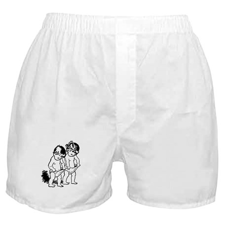 "vintage ""underpants"" cartoon Boxer Shorts"