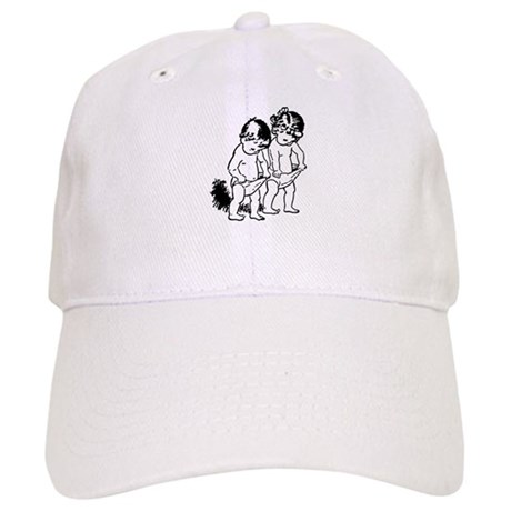 "vintage ""underpants"" cartoon Cap"