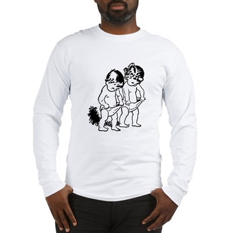 "vintage ""underpants"" cartoon Long Sleeve T-Shirt"