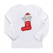 Funny Babies first Long Sleeve Infant T-Shirt