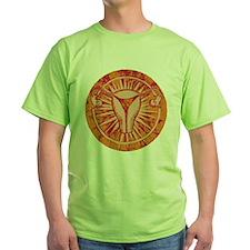 uterusCutout2colorscheme2transparent T-Shirt