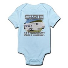 Size Matters Fifth Wheel Infant Bodysuit