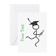 Personalize Grad Runner © Greeting Cards