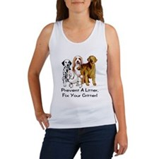 Cute Pets spayed or neutered Women's Tank Top