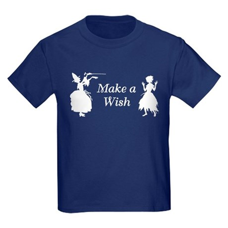 Make a Wish Kids Dark T-Shirt