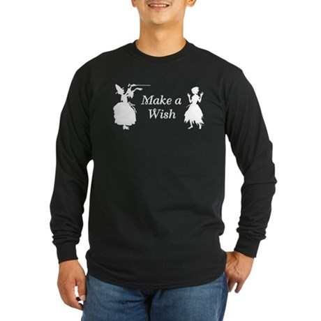 Make a Wish Long Sleeve Dark T-Shirt