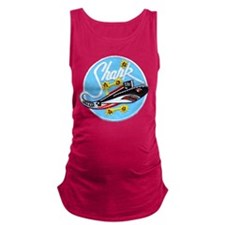 USS SHARK Maternity Tank Top