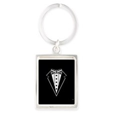 Bow Tie and Black Tux Keychains