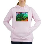 Green Mountains Women's Hooded Sweatshirt