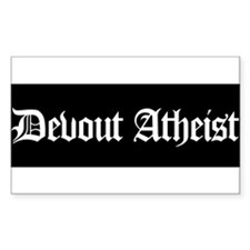 Funny No god atheist Decal