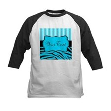 Personalizable Teal Black and White Baseball Jerse