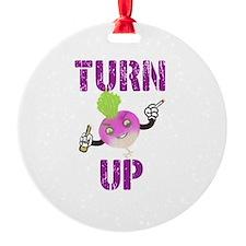 Turnup Turnip Ornament