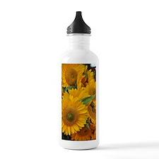 Unique Sunflower bouquet Water Bottle