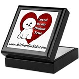 Cute Website Keepsake Box