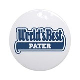 WB Dad [German] Ornament (Round)