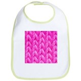 Pink Kniting - Crafty Bib