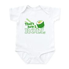 How I Sushi Roll Infant Bodysuit