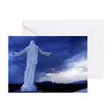 Holy Lightning Greeting Cards