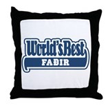 WB Dad [Faeroese] Throw Pillow
