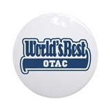 WB Dad [Croatian] Ornament (Round)