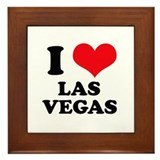 Las vegas lost wages Framed Tiles