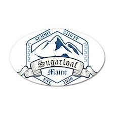 Sugarloaf Ski Resort Maine Wall Decal