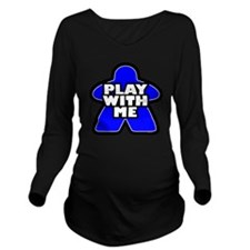 Play With me Long Sleeve Maternity T-Shirt