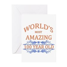World's Most Amazing 100 Greeting Cards (Pk of 10)