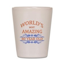 World's Most Amazing 80 Year Old Shot Glass