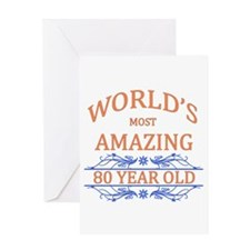 World's Most Amazing 80 Year Old Greeting Card
