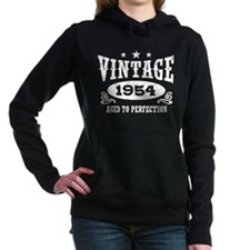 Vintage 1954 Women's Hooded Sweatshirt