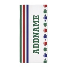 Italia Sports Theme Personalized Beach Towel